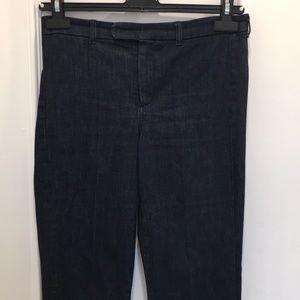 'S MaxMara Straight Frayed Jeans Size S